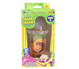 Joker Slimy Slime with glowing and playing ball orange 140 g