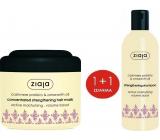 Ziaja Kashmir treatment with amaranth oil strengthening hair mask 200 ml + hair shampoo 300 ml, duopack