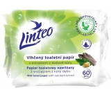 Linteo Satin moistened toilet paper with oak bark 60 pieces