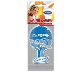 Mister Fresh Car Parfume New Car osvěžovač vzduchu závěsný 1 kus
