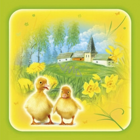 Ditipo Paper napkins 3 ply 33 x 33 cm 20 pieces Easter Ducklings