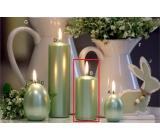 Lima Pastel svíčka metal mentolová válec 50 x 100 mm 1 kus