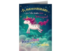 Nekupto Birthday Special Cards with Unicorn Effects 156 x 223 mm