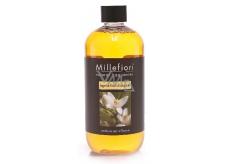 Millefiori Milano Natural Legni and Fiori d'Arancio - Wood and Orange flowers Refill diffuser for incense stalks 500 ml