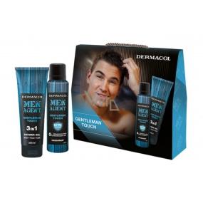 Dermacol Men Agent Gentleman Touch shower gel + deodorant, cosmetic set