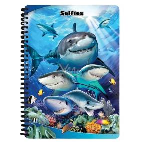 Prime3D notebook A5 - Sharks Selfie 14.8 x 21 cm
