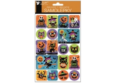 3D Halloween pumpkin stickers 25 x 14 cm