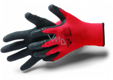 Schuller Eh klar Allstar Crinkle Gloves with latex treatment, size XL / 10