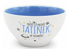 Nekupto Gift Center Ceramic Bowl Best Dad 13 x 6.5 cm
