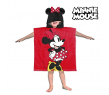 Poncho Minnie hooded towel - Approx. dimensions: 60 x 120 cm