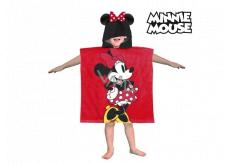 Poncho Minnie hooded towel - Approx. dimensions: 60 x 120 cm