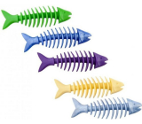 Sum-Plast Rubber Fish skeleton with the scent of vanilla toy for dogs more colors 16 cm