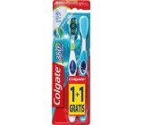 Colgate 360 ° Whole Mouth Clean Soft soft toothbrush 1 + 1 piece
