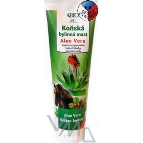 Bione Cosmetics Aloe Vera horse herbal ointment 300 ml