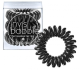 Invisibobble Original True Black Hair Spiral Band Black Spiral 3 pieces