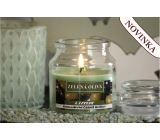 Lima Aroma Dreams Green olive aromatic candle glass with lid 120 g