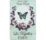 Bohemia Gifts & Cosmetics Aromatic fragrance card Butterfly 10,5 x 16 cm