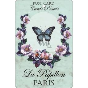 Bohemia Gifts & Cosmetics Aromatická vonná karta Motýl 10,5 x 16 cm