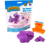 Mad Mattr Kinetic Sand Modeling Mold Create a purple brick 57 g