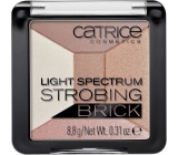 Catrice Light Spectrum Strobing Brick rozjasňovač 010 Brown Brilliance 8,8 g
