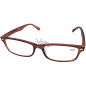 Berkeley Reading glasses +3.0 brown matt 1 piece MC2 ER4040