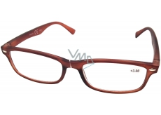 Berkeley Čtecí dioptrické brýle +3,0 hnědé mat 1 kus MC2 ER4040