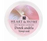 Heart & Home Dotek anděla Sojový přírodní vonný vosk 27 g