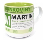 Nekupto Hrnkoviny Mug with the name of Martin 0.4 liter