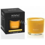 Millefiori Milano Natural Legni e Fiori d'Arancio - Wood and orange flowers Scented candle 180 g