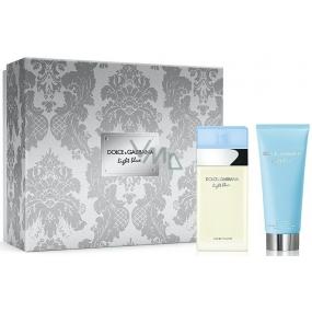 Dolce & Gabbana Light Blue eau de toilette for women 50 ml + body cream 100 ml, gift set 2018
