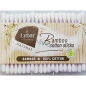 Lybar Original Natural Bamboo bamboo cotton swabs box of 200 pieces