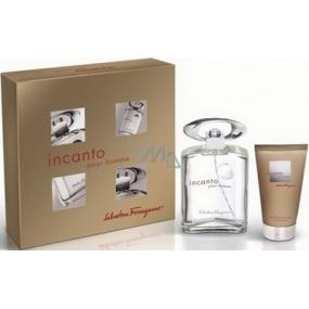 Salvatore Ferragamo Incanto Homme EdT 100 ml Eau de Toilette + 75 ml shower gel, gift set