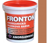 Fronton Inorganic powder paint Brown medium outdoor and indoor use 800 g