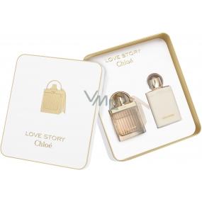 Chloé Love Story parfémovaná voda 50 ml + tělové mléko 100 ml, dárková sada