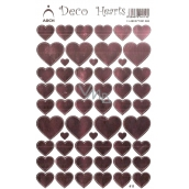 Arch Holographic decorative stickers of pink hearts