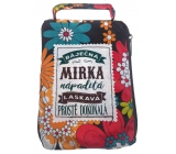 Albi Folding zippered bag for a handbag named Mirka 42 x 41 x 11 cm