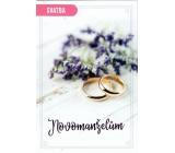 Nekupto Wedding card Newlyweds 115 x 170 mm 3464 F