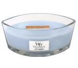 WoodWick candle boat Soft Chambray 7156