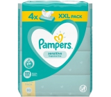 Pampers Sensitive wet wipes for children 4 x 80 pieces