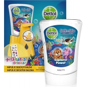 Dettol Kids Zoo Adventurer contactless soap dispenser yellow + 250 ml refill