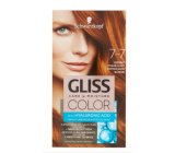 Schwarzkopf Gliss Color hair color 7-7 Copper dark blonde 2 x 60 ml