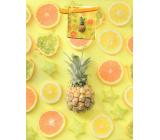 Nekupto Gift paper bag 18 x 23 x 10 cm Pineapple 1876 01 KFM