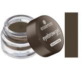 Essence Color & Shape eyebrow gel 04 Dark Brown 3 g