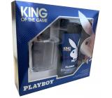 Playboy King of The Game eau de toilette for men 60 ml + shower gel 250 ml, gift set