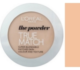 Loreal Paris True Match pudr D3 - W3 Golden Beige 9 g