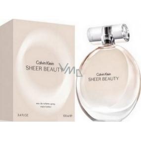 Calvin Klein Sheer Beauty EdT 100 ml eau de toilette Ladies