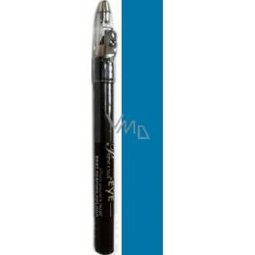 Princessa Fashion Best Color waterproof eye shadow pencil 14 Ice Blue with glitter 3.5 g
