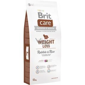 Brit Care Weight Loss Rabbit and rice premium feed for dogs of all breeds 12 kg