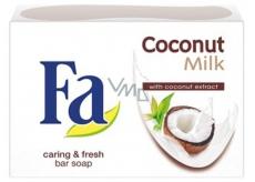 Fa Coconut Milk toaletní mýdlo 90 g