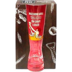 Albi My Bar Women's beer glass My daily dose of vitamin B 400 ml